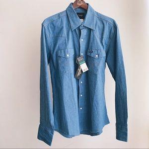 Men's Wrangler western shirt NWT